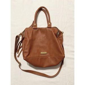 Steve Madden camel colored handbag